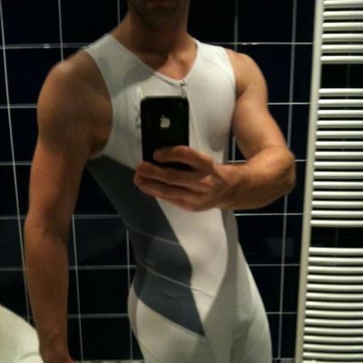 Gay Spandex Lycra Biathlon suits photos