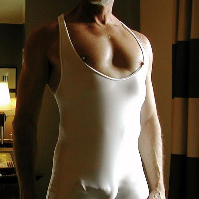 Gay Spandex Lycra Leotard photos