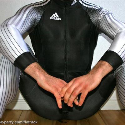 Gay Spandex Lycra Luge suits photos