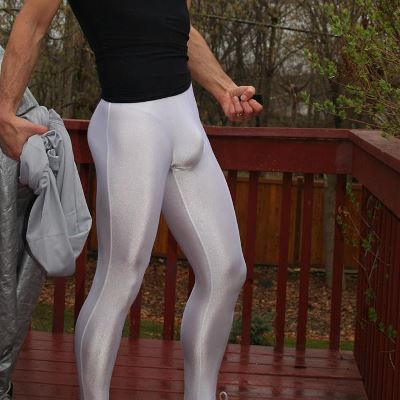 Gay Spandex Lycra Tights photos