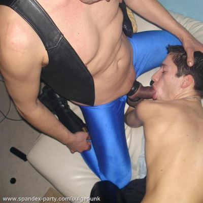 Gay Spandex Lycra bareback photos