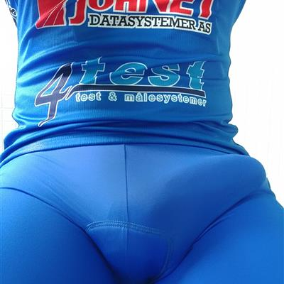 Sep, 2017's top guy Kitbulge wearing Cycling Outfit BlueBulge